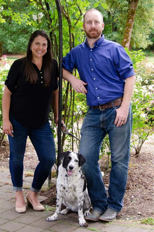 Veterinarians Dr Sheena and Dr Jason